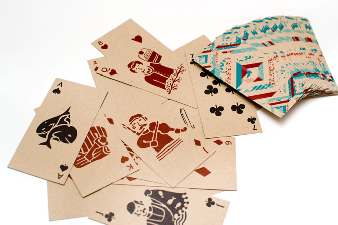 Card Radar: Fogo Island Inn Playing Cards by Dan Perrella
