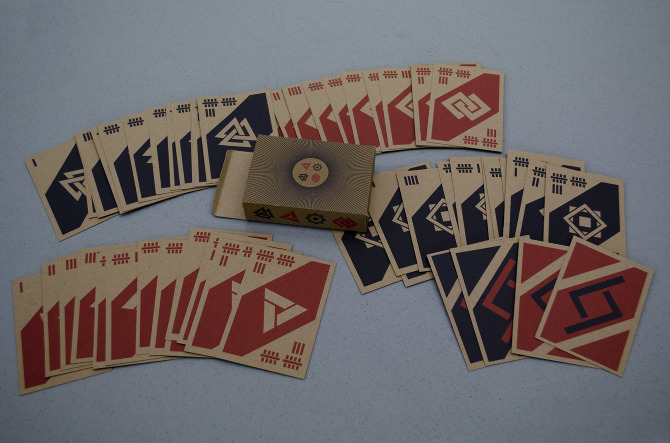 Unique Numbering System Playing Cards