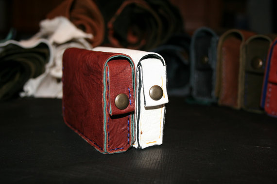 Leather tuck case 1