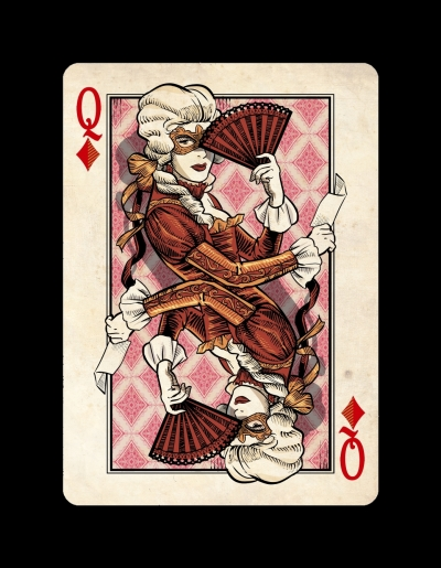 Venexiana Queen of Diamonds