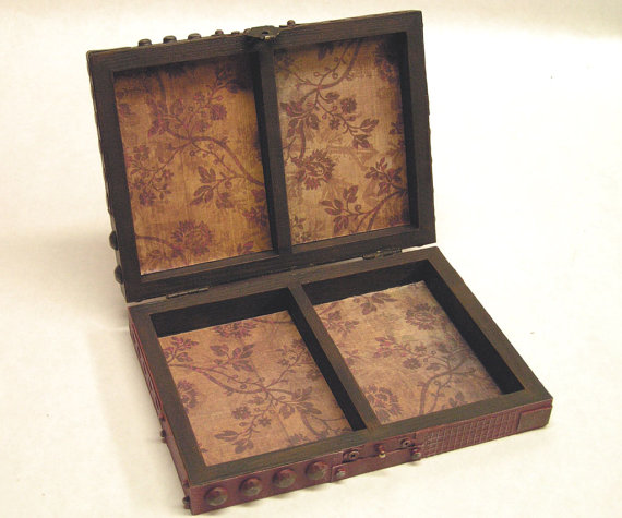 Steampunk Tuck case Inside