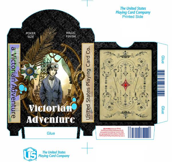 Victorian Adveture Deck Tuck Case