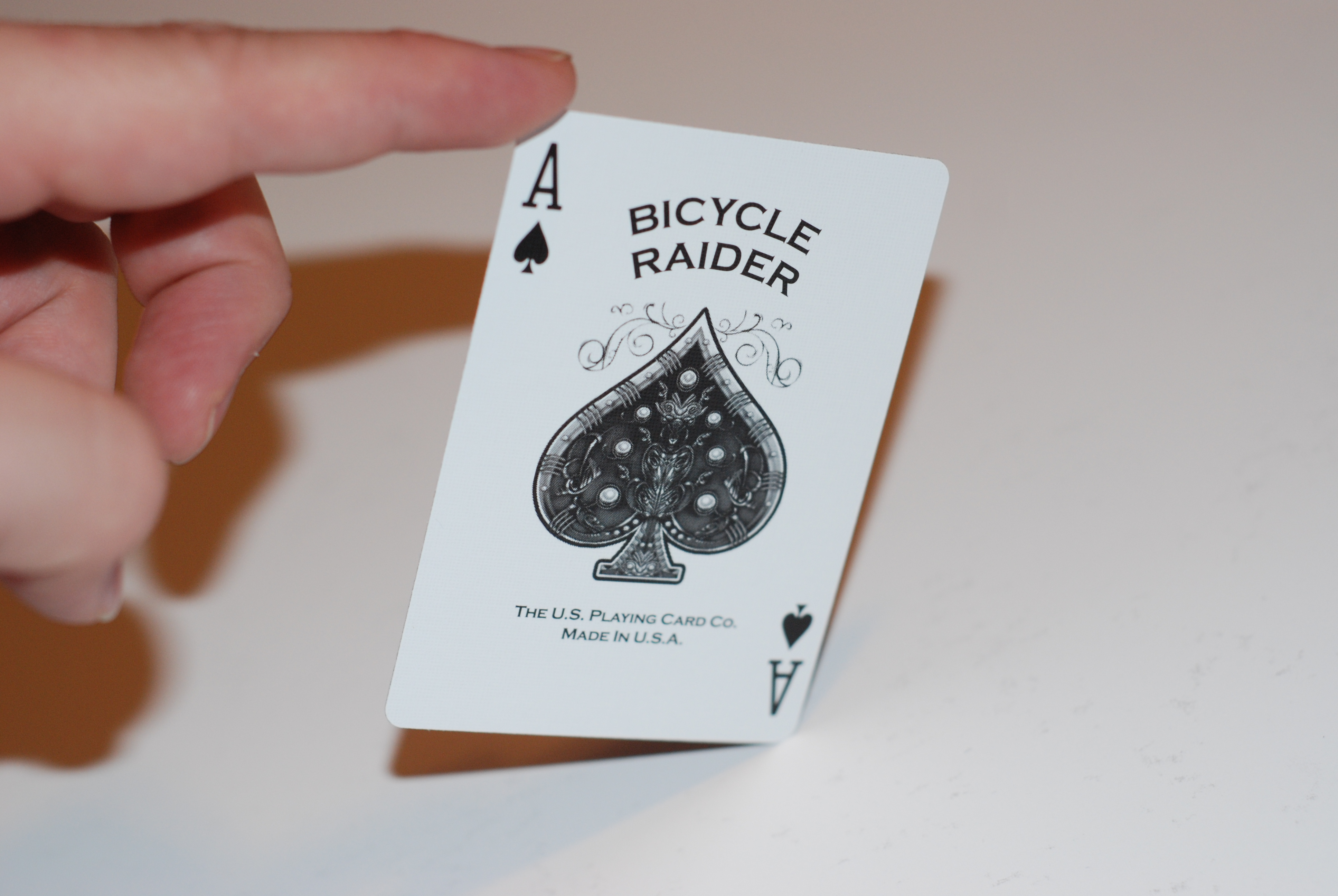 Bicycle Raiders Ace of Spades