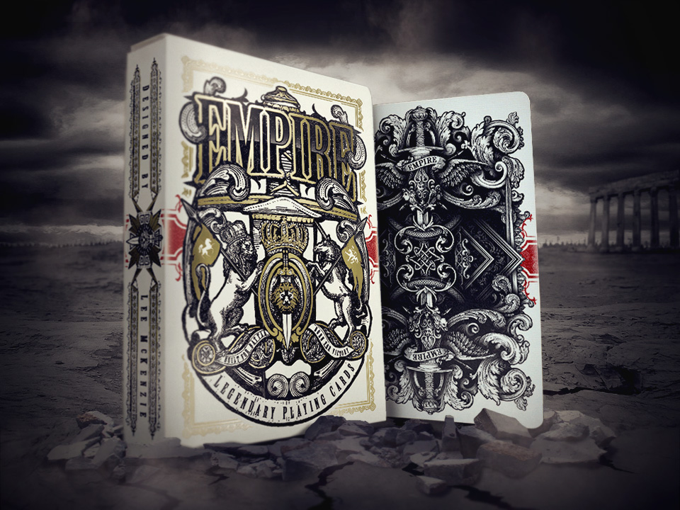 Kickstarter: Ellusionist Designer, Lee McKenzie, Goes Solo with Epic Launch of EMPIRE Playing Cards