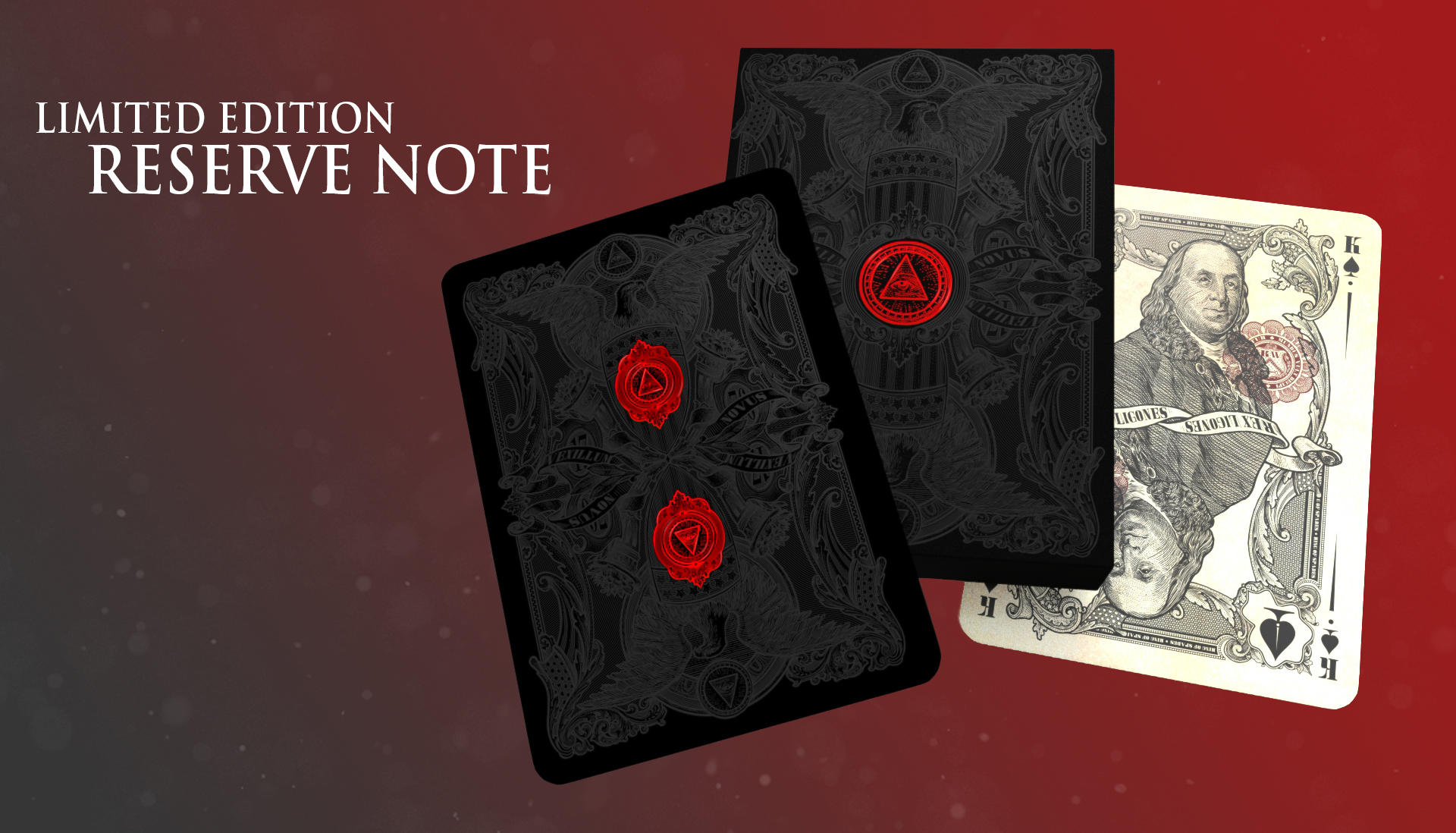 Kickstarter: Federal 52 Releases Black Back For Limited Edition Reserve Note Deck